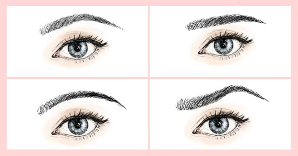 There Are 5 Eyebrow Shapes—Which Do You Have?