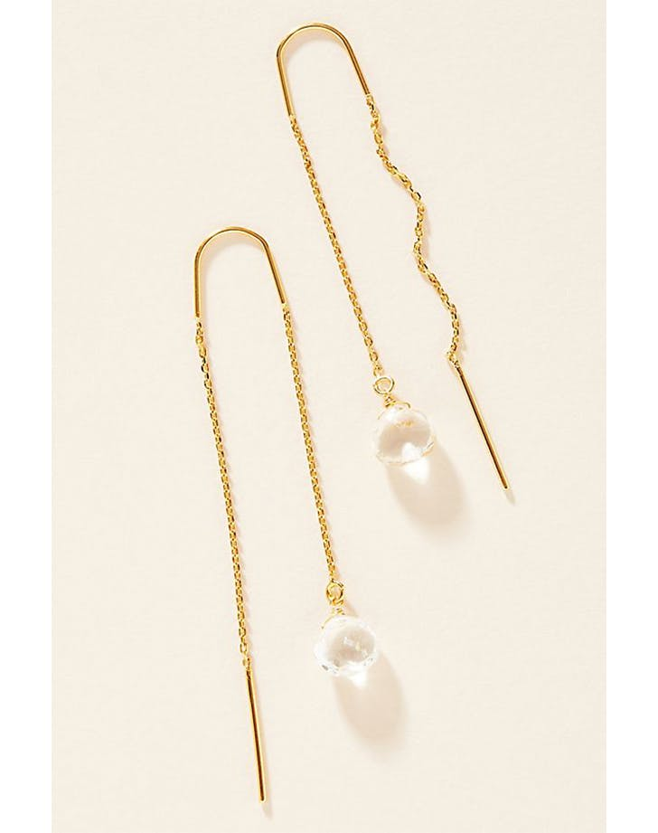 anthropologie earrings hayden threader