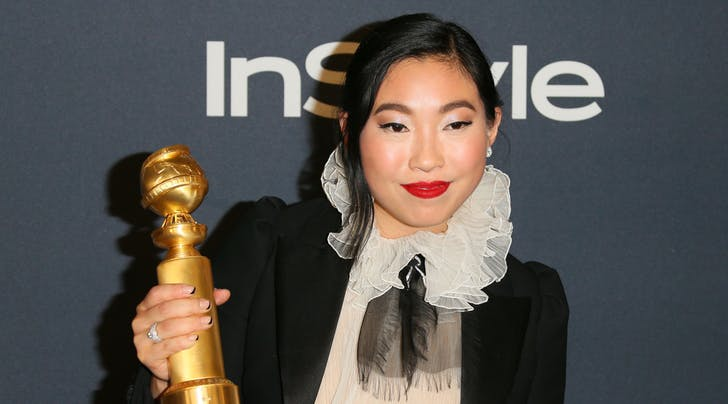 Awkwafina Just Made Golden Globes History with Her Best Actress Win