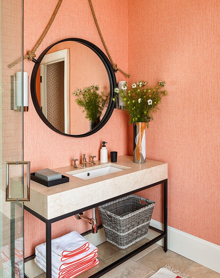12 Bathroom Paint Color Ideas You Haven T Thought Of Purewow