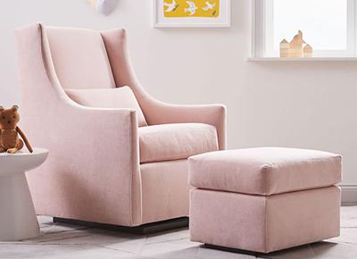 Blush Nursery Chair Online Ping