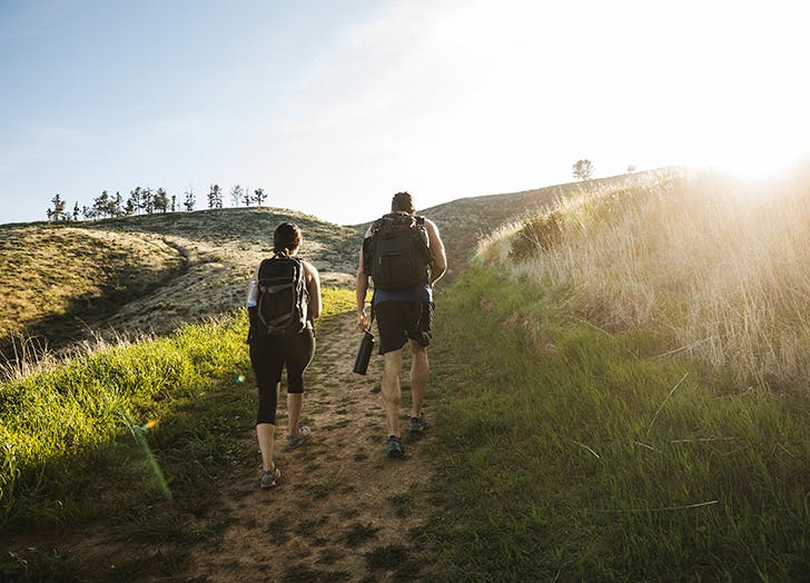 best workouts for mental health hiking