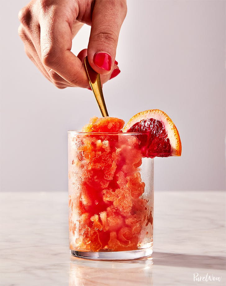 3-Ingredient Blood Orange Granita