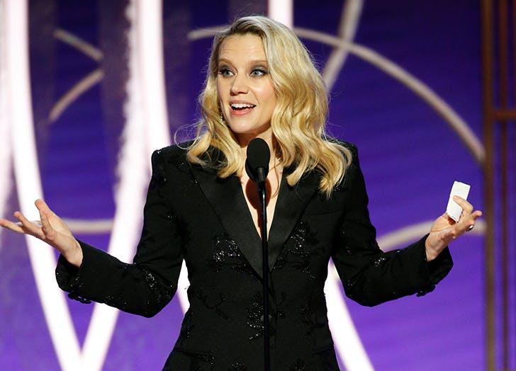Kate McKinnon's Speech Honoring Ellen at the 2020 Golden Globes Was...Perfect