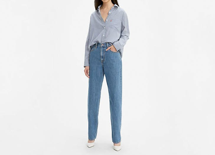 levis womens dad jeans1