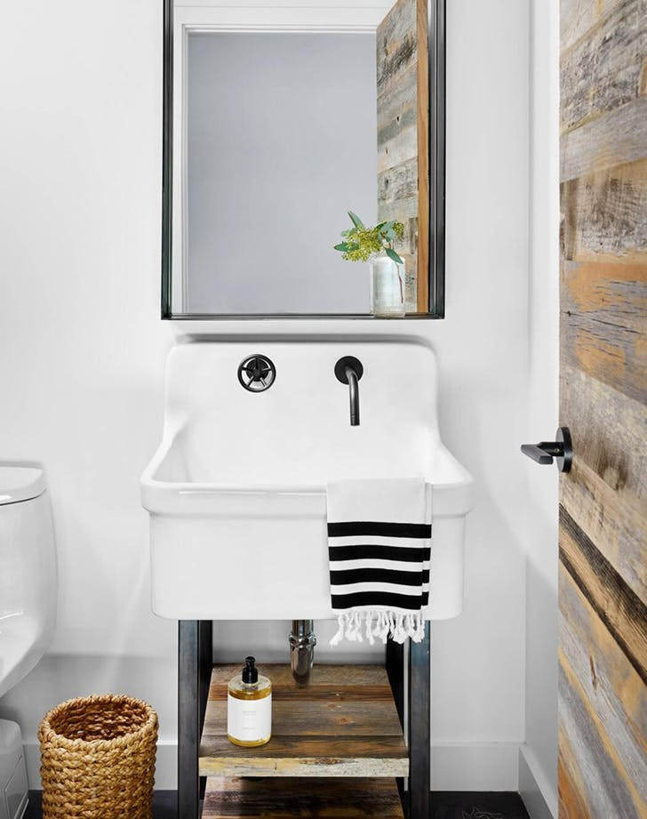 See Info Bathroom With Black Fixtures Web Details @house2homegoods.net