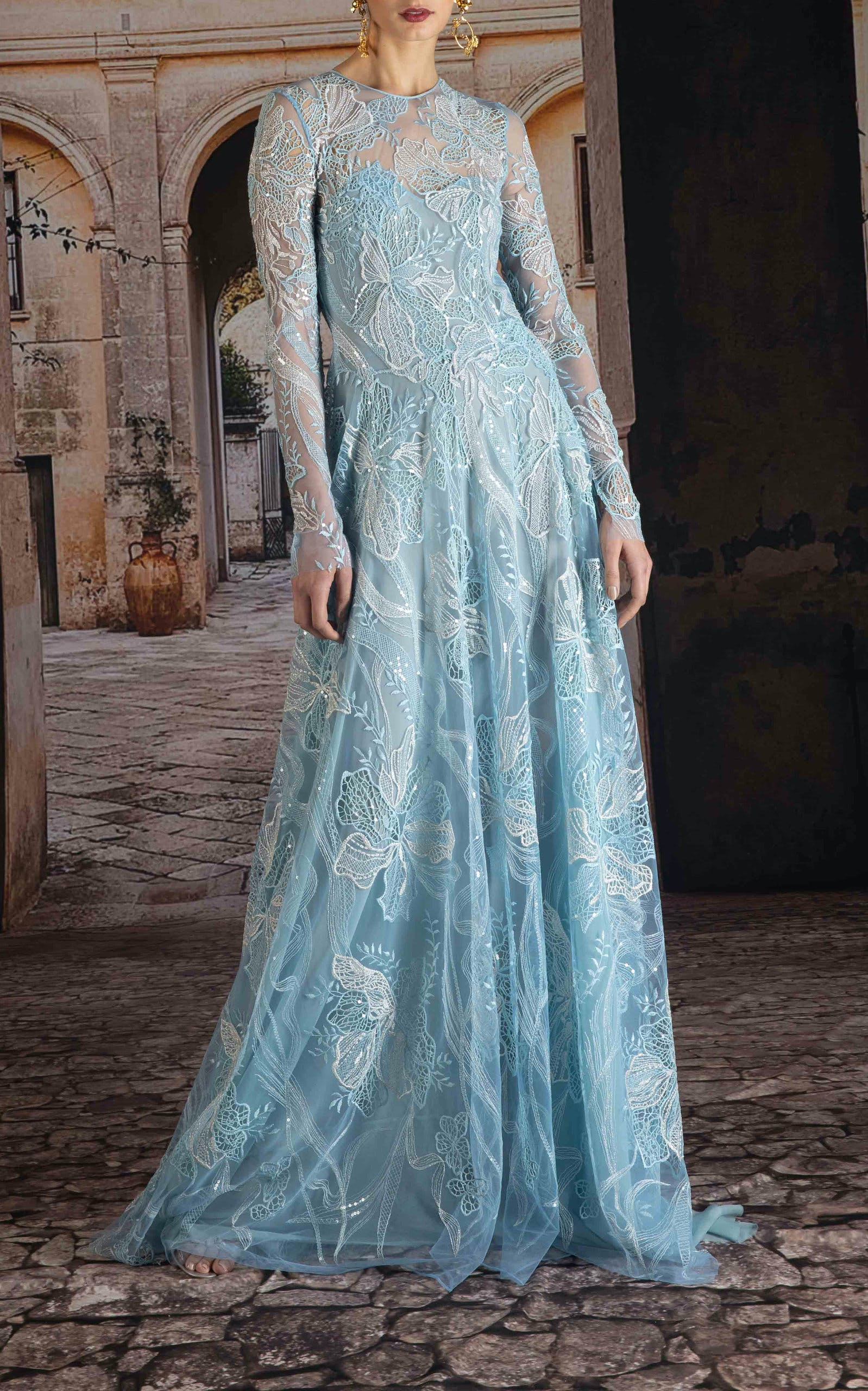 10 Non-White Wedding Dresses for Non-Traditional Brides - PureWow