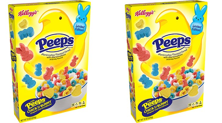 Peeps Cereal Is Back…with Brand-New Marshmallows