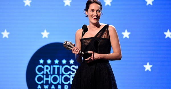 Phoebe Waller-Bridge Wore a Fancy Version of the 'Fleabag' Jumpsuit to the Critics' Choice Awards