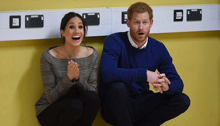 prince harry meghan markle surprised