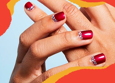 30 Red Nail Designs To Try Now Purewow