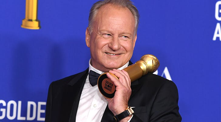 Stellan Skarsgårds Acceptance Speech Was Really a Lesson in Maintaining Your Eyebrows