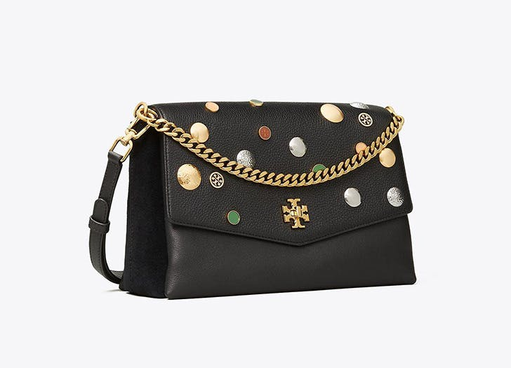 tory burch embellished handbag on sale