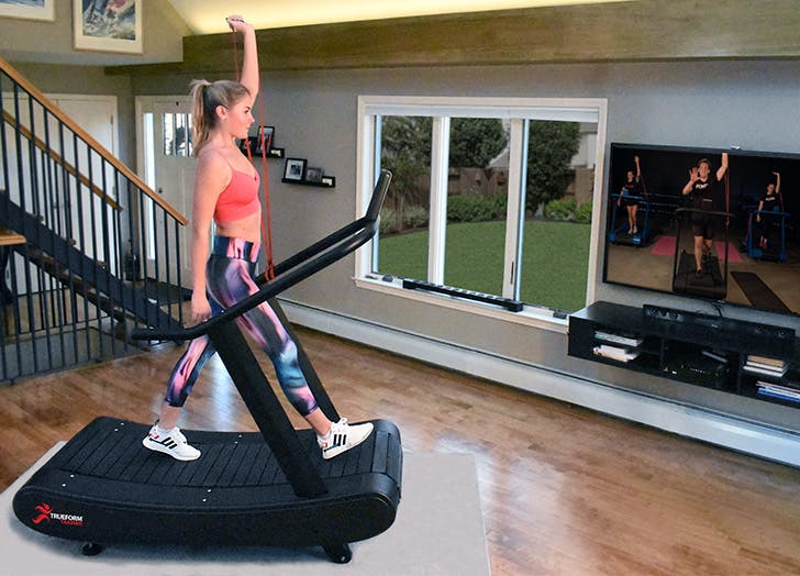 trueform trainer review manual treadmill