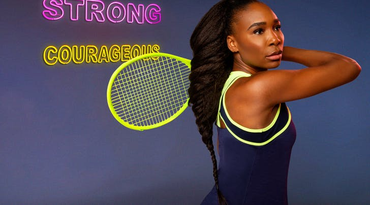 Venus Williams Drops New Athleisure Collection At Australian