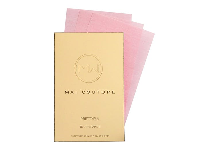 water free beauty blush paper