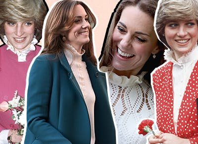 Kate Middleton Just Brought Back the Diana-Inspired Pie Crust Collar ( Here's How You Can Wear It)