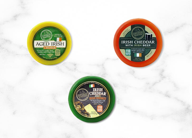 aldi assorted irish cheeses