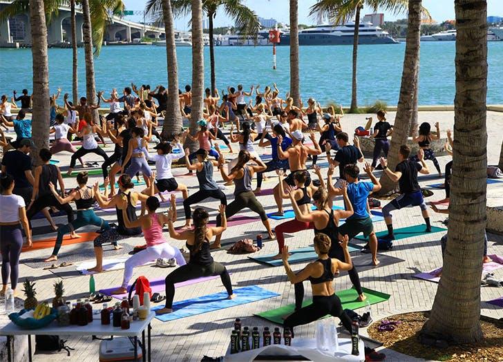 Where To Find Free Yoga In Miami Purewow