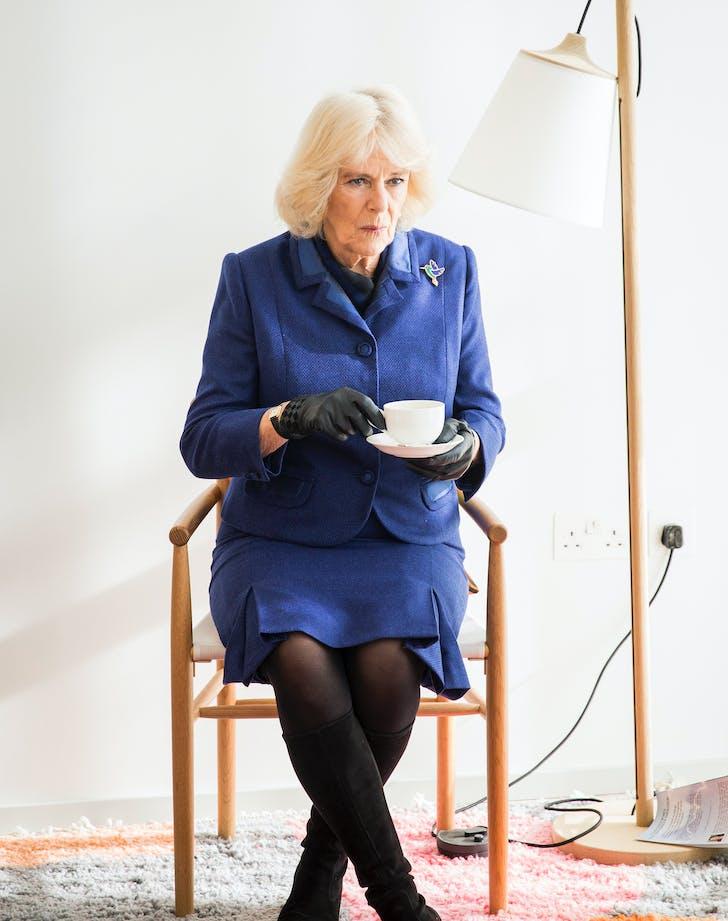 camilla parker bowles wearing royal blue1