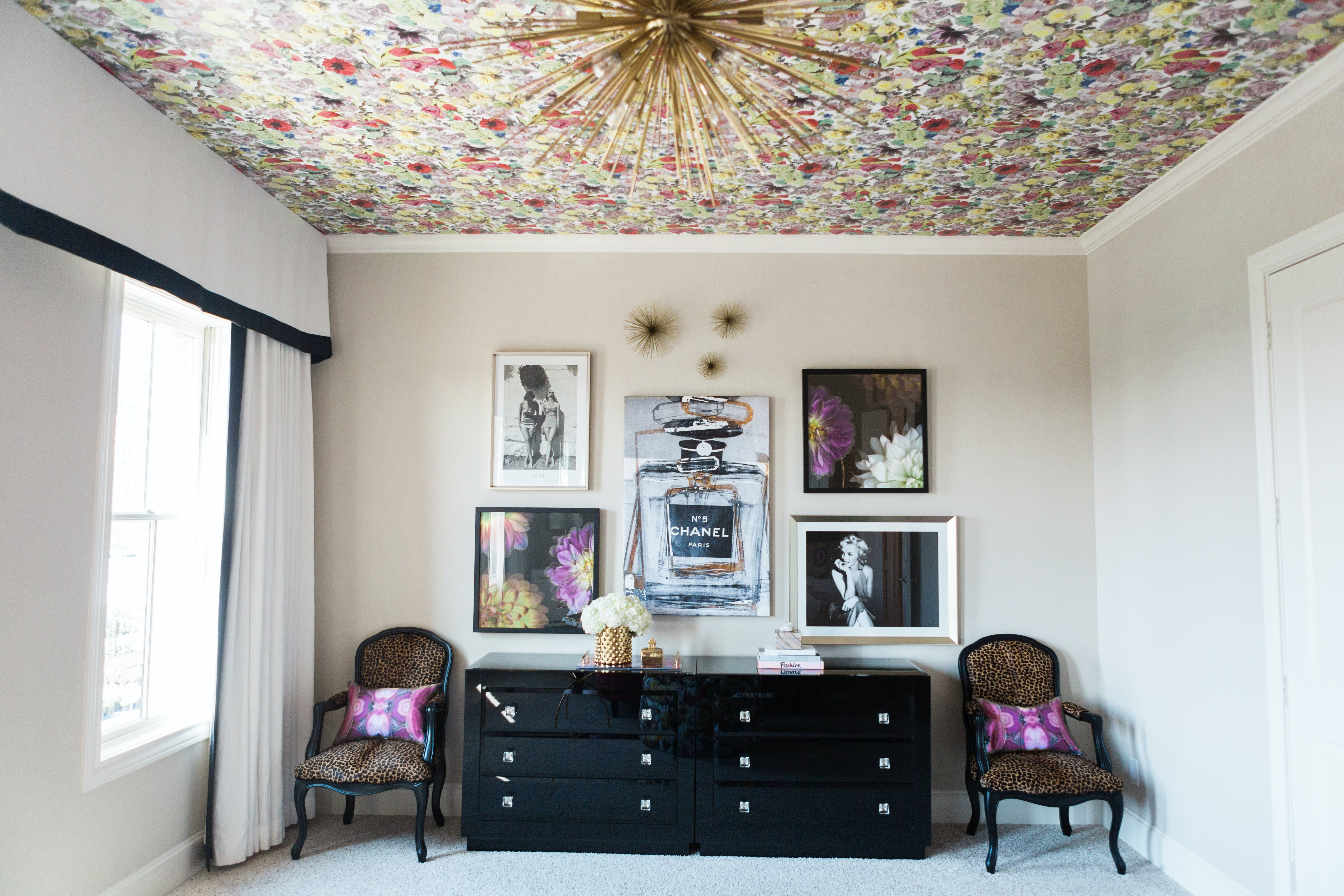 Ceiling Wallpaper Yes It S Worth The Arm Workout Purewow