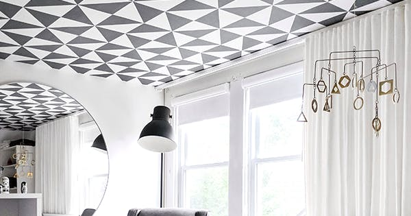 Ceiling Wallpaper? Yes, It's a Thing Yes, You Need to Try It