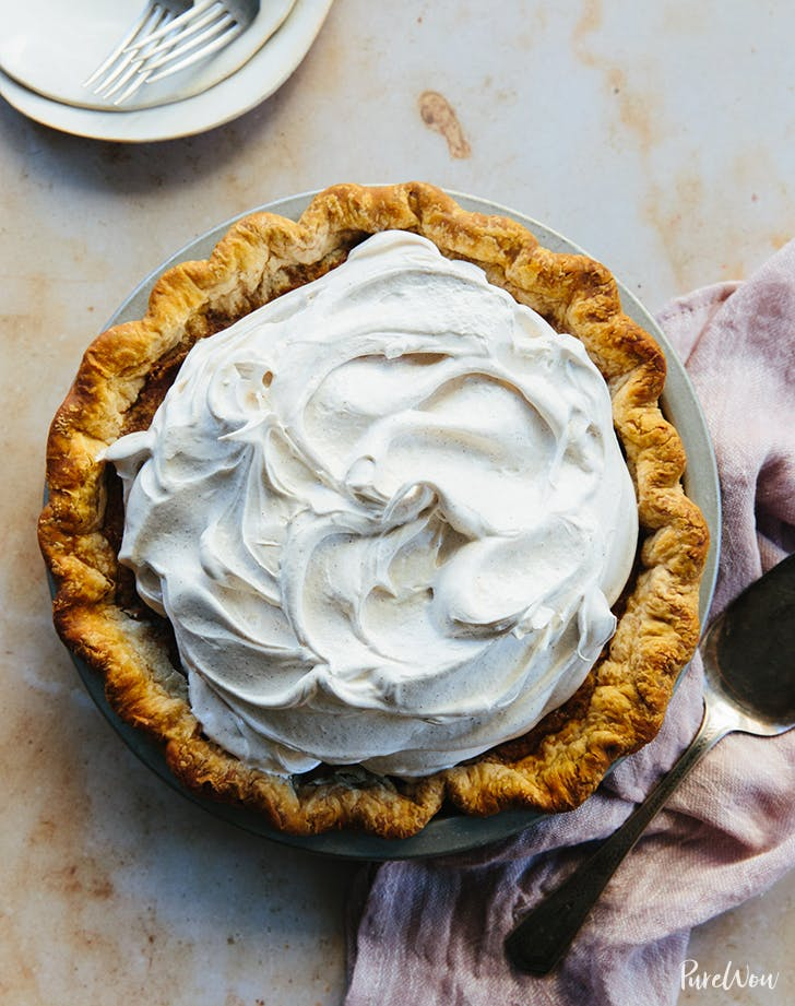 Cinnamon Meringue Pie