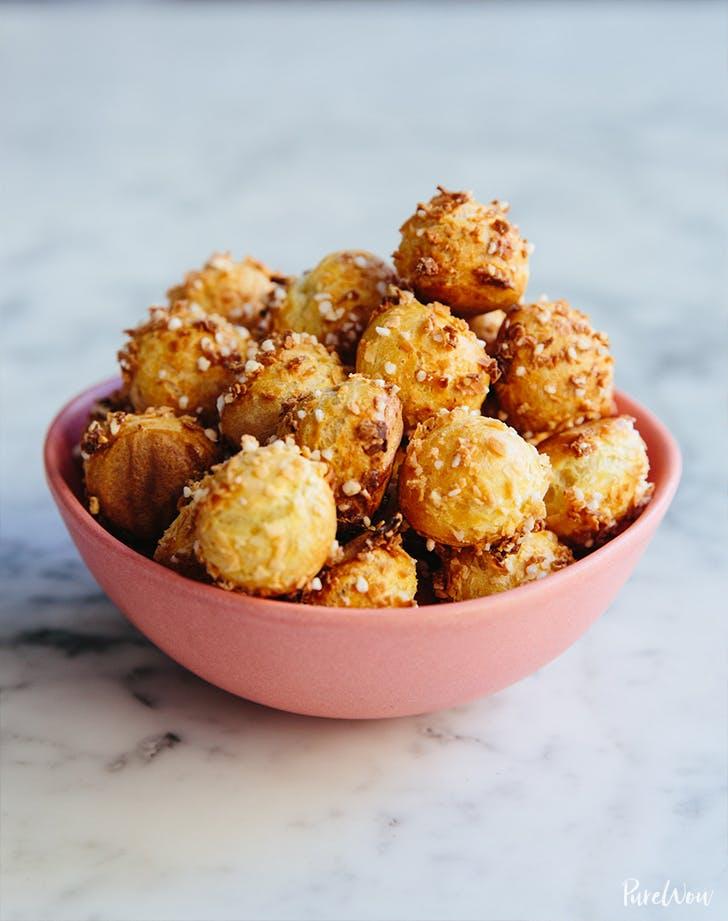 Coconut Choux Bites