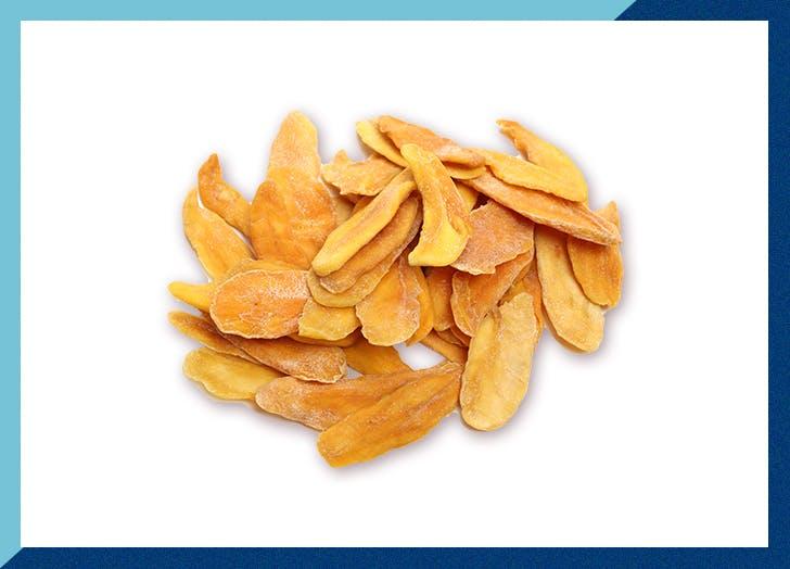 dried mango slices snack