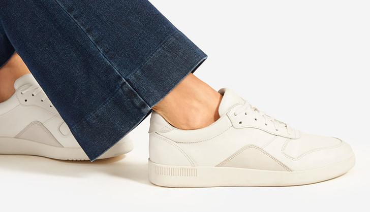 Everlane Court Sneaker Sale - PureWow