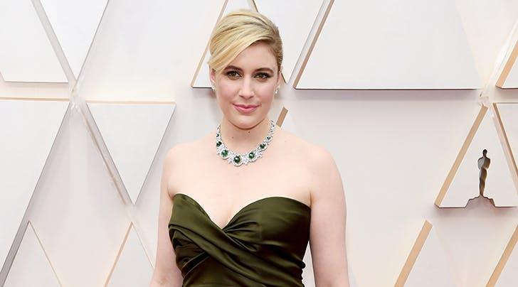 Greta Gerwig Debuts New Hollywood Blonde 'Do at the Oscars