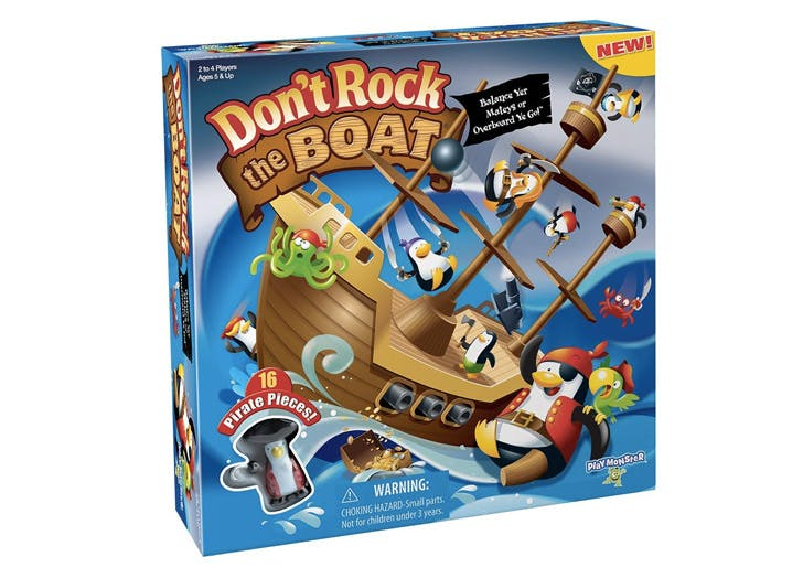 indoor games for kids dont rock the boat