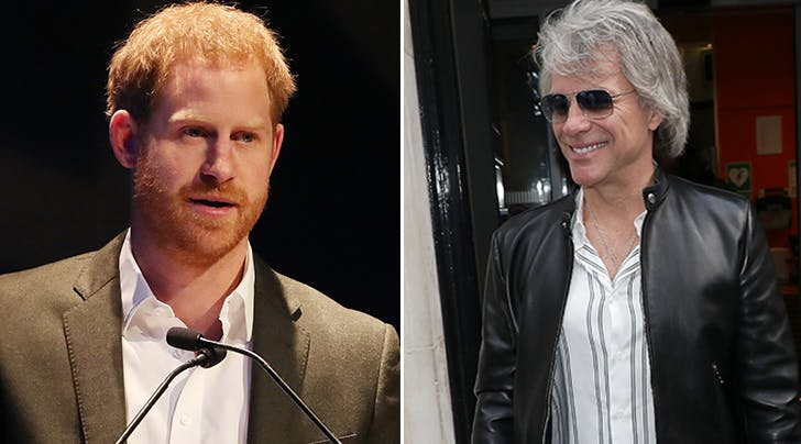 Jon Bon Jovi Just Revealed His Very Clever Nickname for Prince Harry (& Spilled Deets on Their New Project)