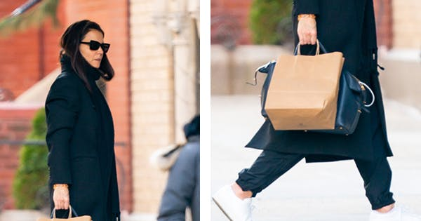 Katie Holmes Just Can't Stop Carrying This Versatile Bag From Metier London