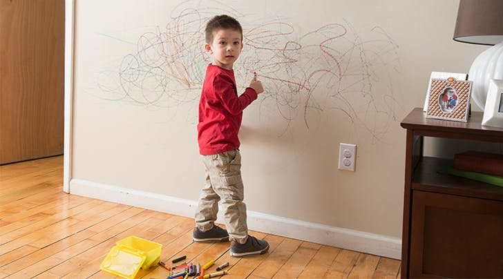 What It Means About Your Child's Brain If She Colors on Your Walls