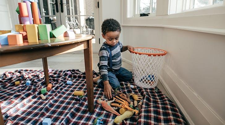 Psst: You Should Organize Your Home Like a Kindergarten Classroom