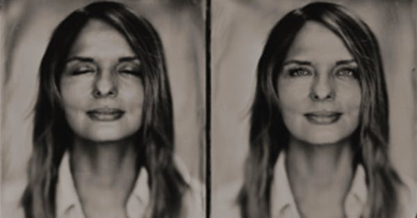 Before-and-After Meditation Portraits Will Show You a Whole New Side of Yourself