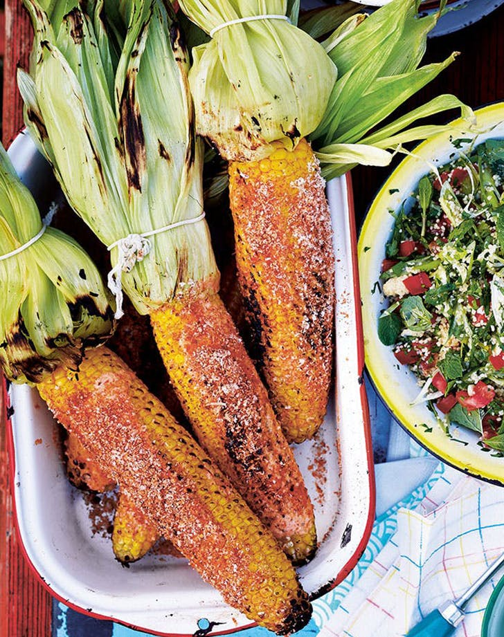 mexican side dishes Smoky Barbecued Corn