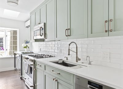 Mint Kitchens Are So Hot Right Now Purewow