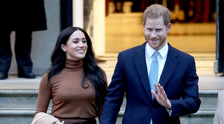 Meghan Markle & Prince Harry Just Made Their First Public Appearance Since Leaving the U.K.