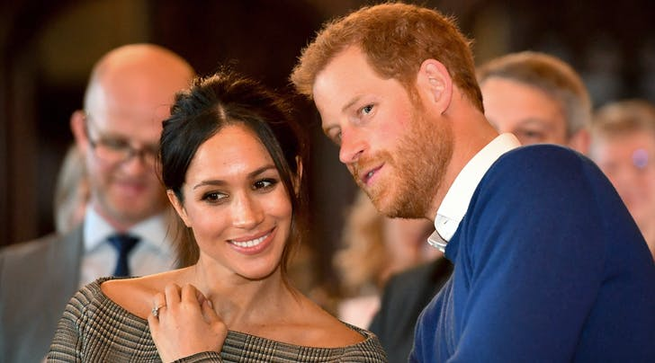Will Prince Harry & Meghan Markle Stay with the Queen While They're in England This Week?