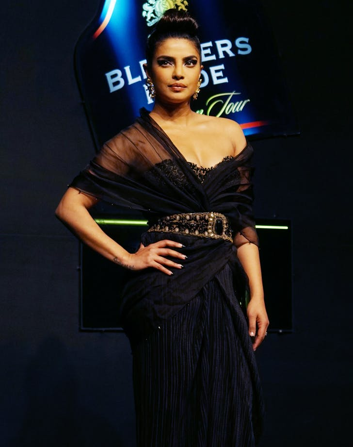 priyanka chopra fashion show