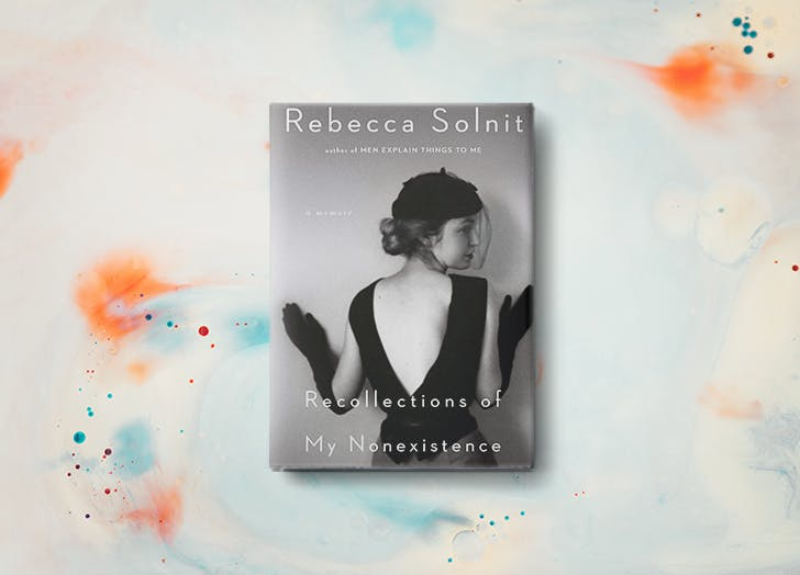 recollections of my nonexistence rebecca solnit