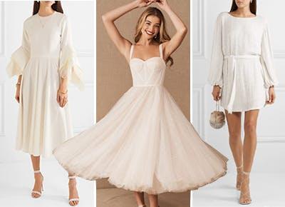 20 Best Short Wedding Dresses Of 2020 Purewow