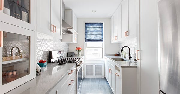5 Brilliant Storage Ideas to Steal from This 124-Square-Foot Kitchen