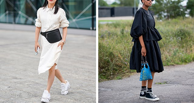 5 Dresses You Can (and Should) Wear with Sneakers