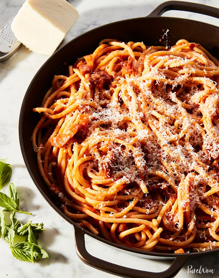 Spicy Bucatini Amatriciana