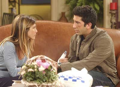 were ross and rachel on a break friends 400