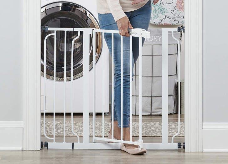 1. Best Doorway Blocking Baby Gate  Regalo Easy Step