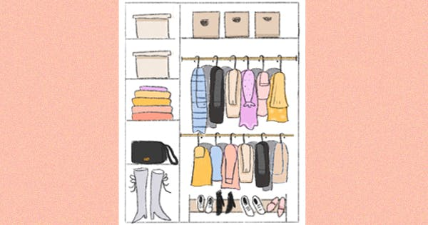 How to Organize a Small Closet, According to Instagram's Hottest Declutterers